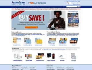 americanbankchecks.com screenshot