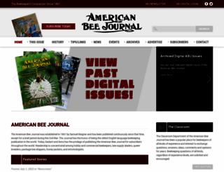 americanbeejournal.com screenshot