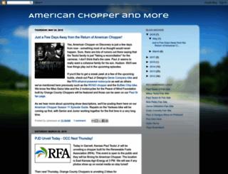 americanchopperandmore.blogspot.com screenshot