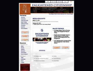 americancivicliteracy.org screenshot