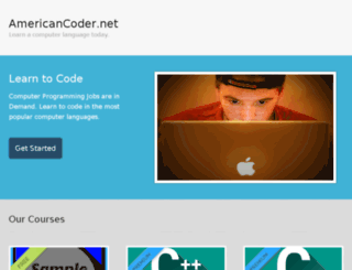 americancoder.net screenshot
