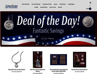americancointreasures.com screenshot