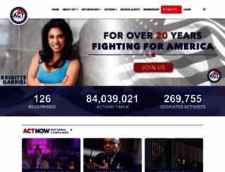 americancongressfortruth.com screenshot