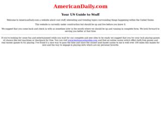 americandaily.com screenshot
