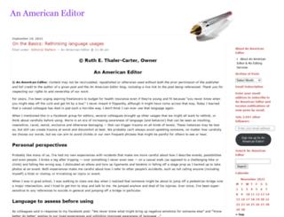 americaneditor.wordpress.com screenshot