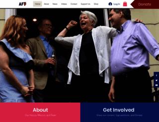 americanfamilyvoices.org screenshot