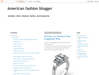 americanfashionblog.blogspot.com.ar screenshot