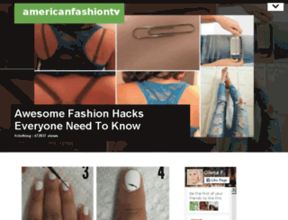 americanfashiontv.org screenshot