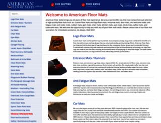 americanfloormats.com screenshot