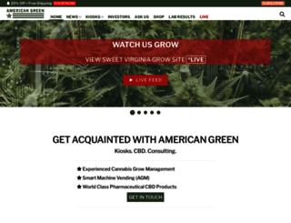 americangreen.com screenshot