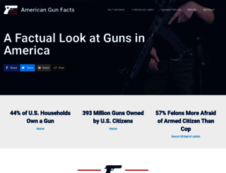 americangunfacts.com screenshot