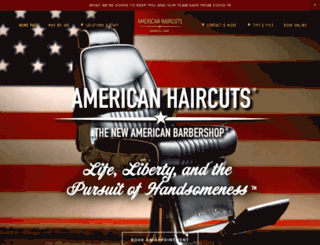 americanhaircuts.com screenshot