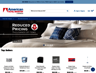 americanhotel.com screenshot