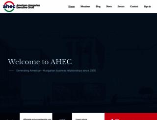 americanhungarian.org screenshot
