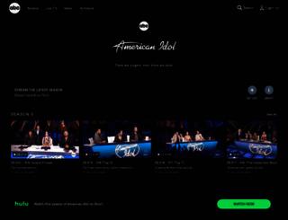 americanidol.ca screenshot