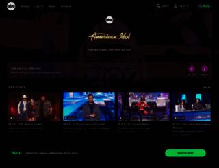 americanidol.com screenshot