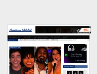 americanidolnet.com screenshot