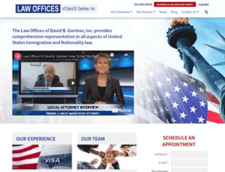 americanimmigrationlaw.com screenshot