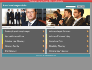 americanlawyers.info screenshot