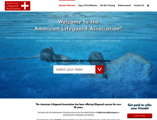 americanlifeguard.com screenshot