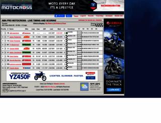 americanmotocrosslive.com screenshot
