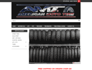 americanmototire.com screenshot
