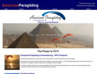 americanparagliding.com screenshot