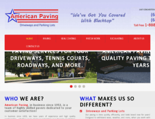 americanpaving.biz screenshot