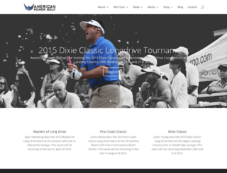 americanpowergolf.com screenshot