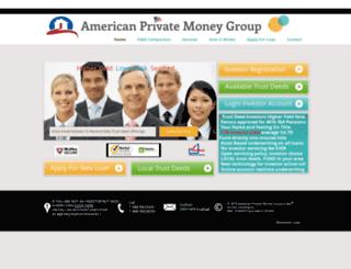 americanprivatemoneygroup.com screenshot