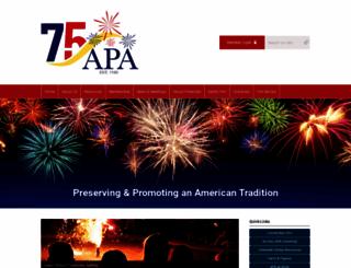 americanpyro.com screenshot