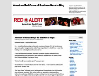 americanredcrossofsouthernnevada.wordpress.com screenshot