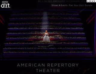 americanrepertorytheater.org screenshot