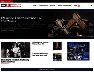 americanrifleman.org screenshot