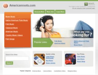 americanroots.com screenshot