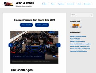 americansolarchallenge.org screenshot