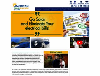 americansolarsolution.com screenshot