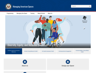 americanspaces.state.gov screenshot
