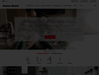 americanstandard.co.id screenshot