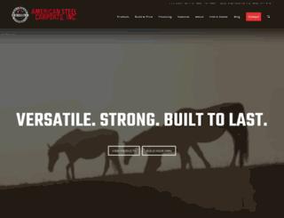 americansteelinc.com screenshot