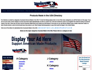 americansworking.com screenshot