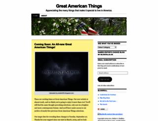 americanthings.wordpress.com screenshot