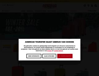 americantourister.be screenshot