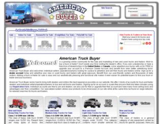 americantruckbuyer.com screenshot