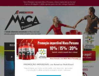 americanutritionmaca.com.br screenshot