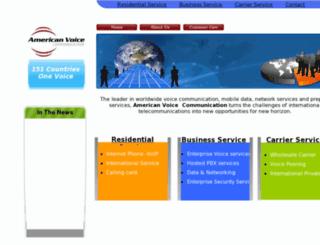 americanvoicecom.com screenshot