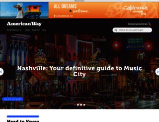 americanway.com screenshot
