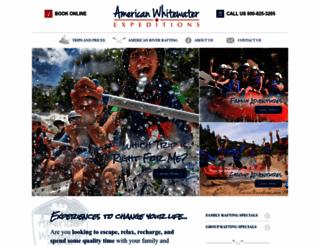 americanwhitewater.com screenshot