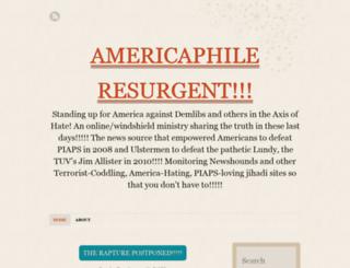 americaphile.wordpress.com screenshot