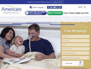 americarecpap.com screenshot